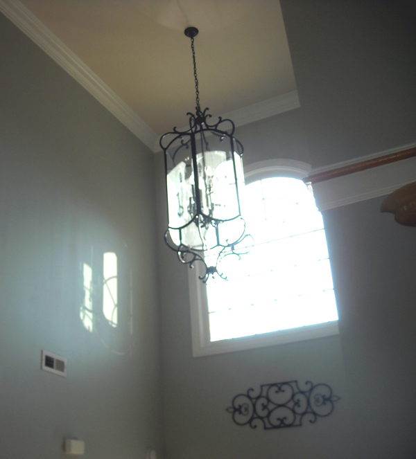 Two Story Foyer Lighting : Smitty s residential painting charlotte nc